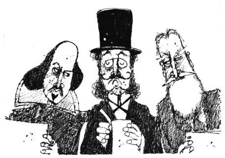 Critic cartoon