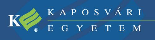 kaposvari egyetem logo