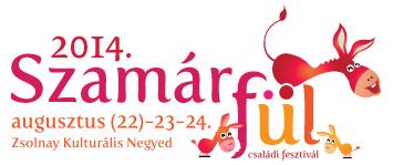 szamarful csaladi fesztival logo