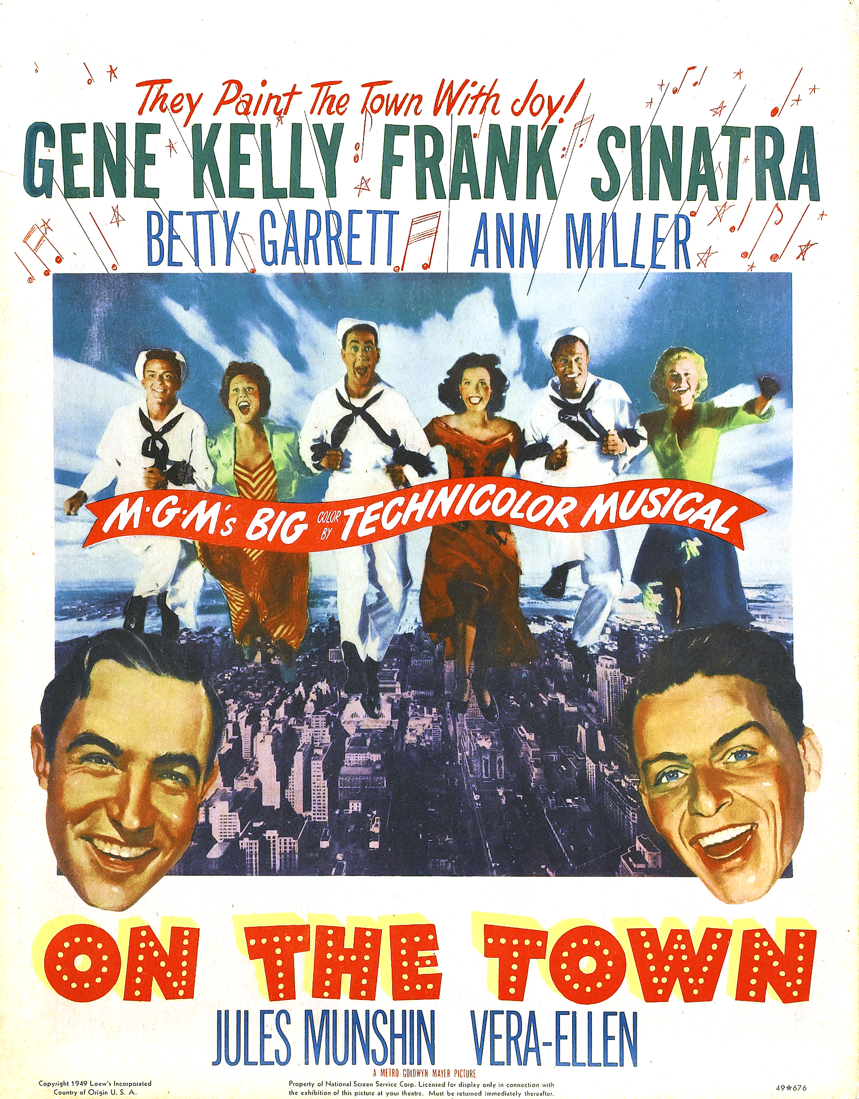 Poster - On the Town 03