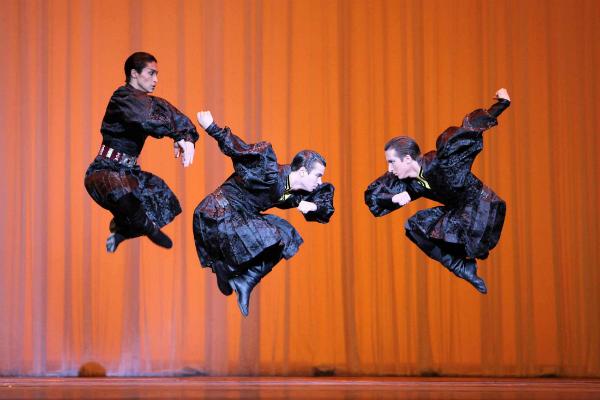 Kalmuk dance photo E