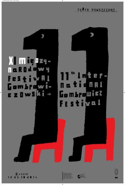11-miedzynarodowy-festiwal-gombrowiczowski-plakat