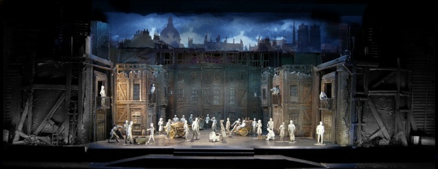 177p 2nd Act Opening Building the BarricadeÔÇöUpon These Stones With projection resize
