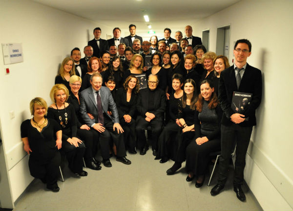 Csokonai Choir with Ennio Morricone-k