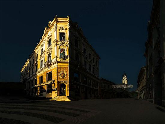 Szinhaz ter - Kiraly utca - Foto Cseri Laszlo