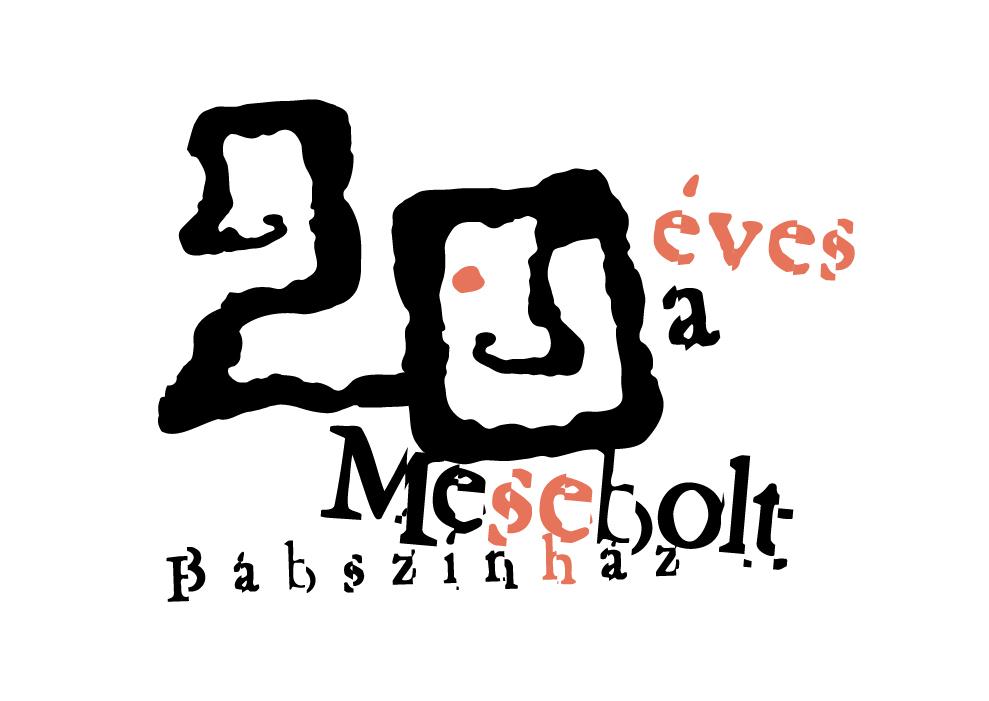 MESEBOLT 20 EVES LOGO
