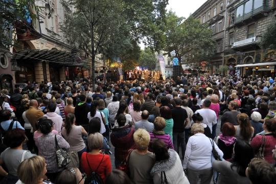 operett broadway fesztival