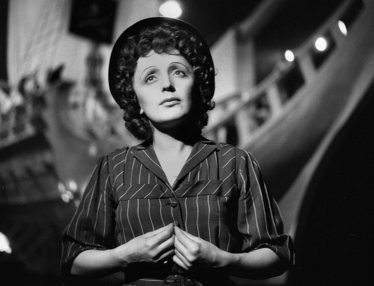 Edith Piaf 1950 Gaston Paris