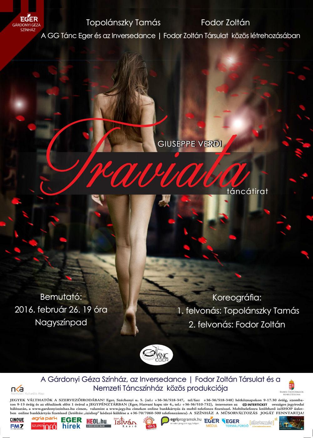 Traviata plakat