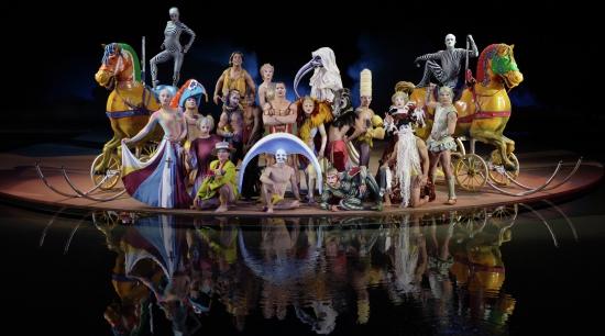 bellagio entertainment o by cirque du soleil family portrait