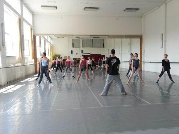 Kun Attila az Eva Jaczova Tanckonzervatoriumban oktat