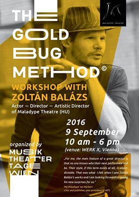 Gold Bug Method Zoltan Balazs workshop Wien