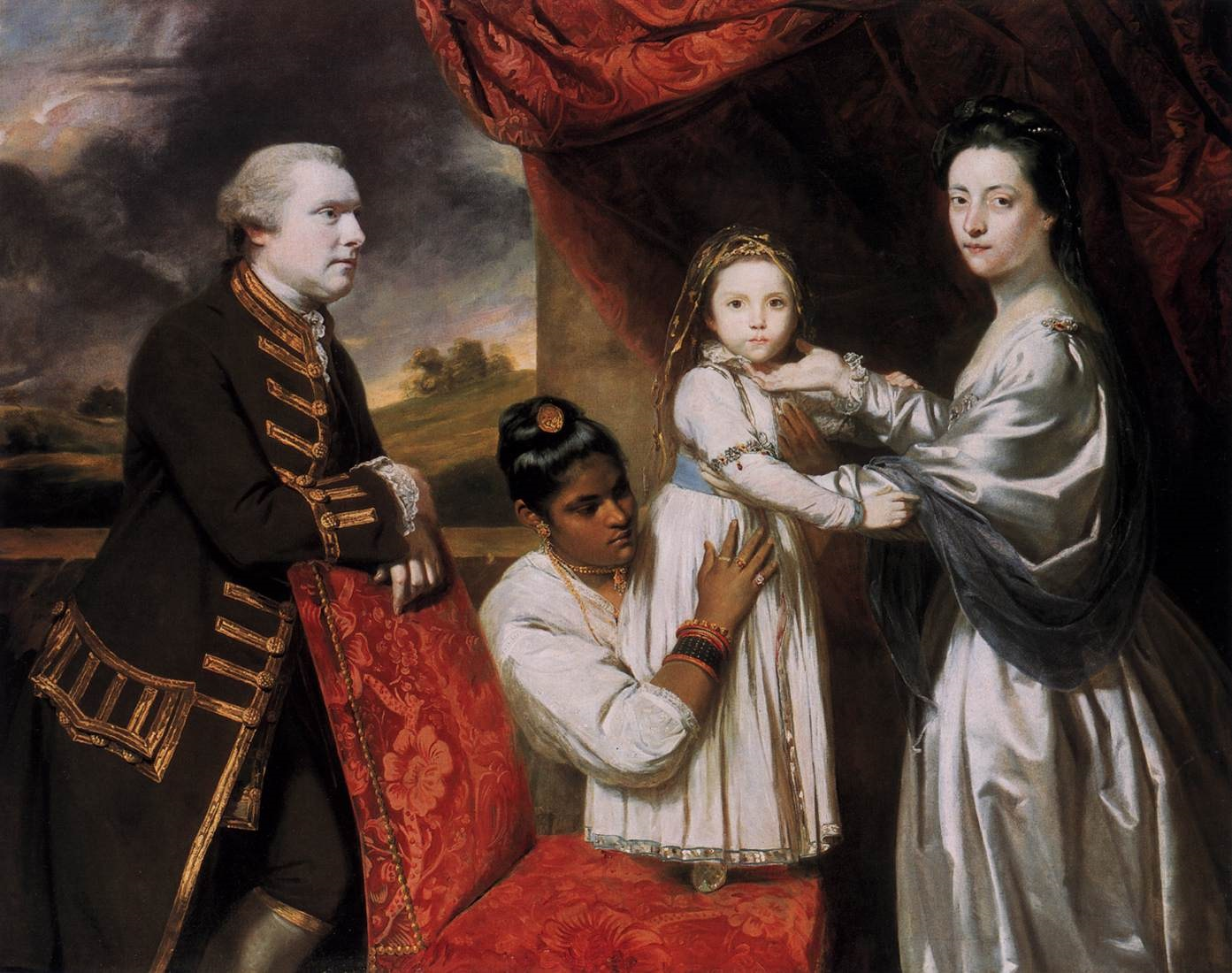 clive-and-his-family-with-an-indian-maid_foldiparadicsom.jpg