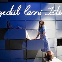 Anne Frank naplója / A képfaragó (Budapesti Operettszínház, Raktárszínház, 2020)