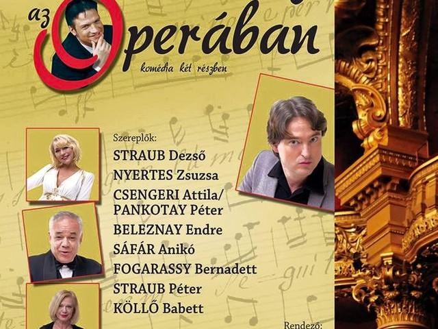 NYÁRI SZÍNHÁZOLÁS, 2015, MÁSODIK ÁLLOMÁS: Botrány az operában (komédia)
