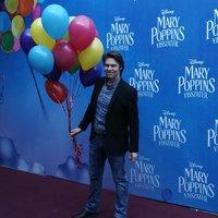 Fotókon a Mary Poppins visszatér díszbemutatója