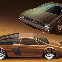 Hogy néztek volna ki a mai autók a múltban?