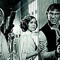 Star Wars backstage