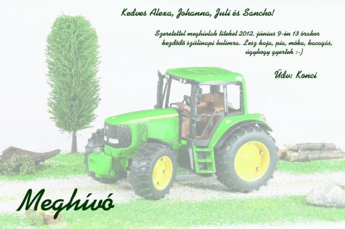 traktoros szülinapi képek Kerti szülinapi party   Gyerek szülinapok traktoros szülinapi képek