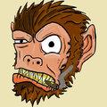 Majmok és Gorillák Szivaroznak