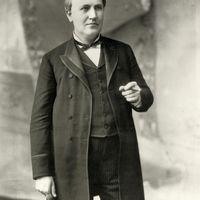 Thomas Alva Edison is szivarozott