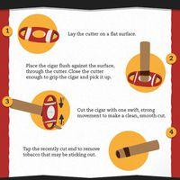 Hogyan kell használni a kétélű szivarvágót?