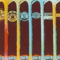 Steve Kaufman Pop Artis - Cohiba Szivar Festmények