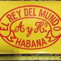 Vintage - Régi Kubai Szivarmárkák