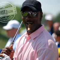 Michael Jordan - Szivar és Golf