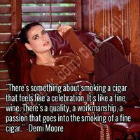 Hollywoodi szivarozó szinésznők - Demi Moore
