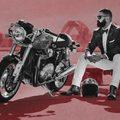 Mark Hawwa az az úriember, aki 2012-ben először szervezte meg a Distinguished Gentleman's Ride nevű jótékonysági rendezvényt