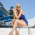 Nina Lisa Uhl modell és a Nestor Miranda Szivar Fotózása
