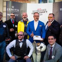 Szivarosok a 2018-as budapesti Gentlemans Ride-on