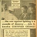 Cremo - Az Egészséges Szivar 1930-ból