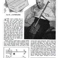 Hegedű Szivardobozból