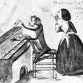 George Sand szivarozva hallgatja Liszt Ferenc zongorajátékát