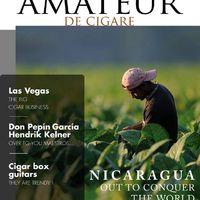 The InternationaL'Amateur de Cigare Magazin Címlapjai