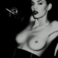 Dohányzás Fekete-Fehérben