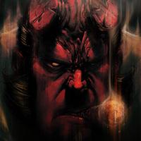 Szivarozó Szuperhősök - Hellboy