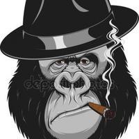 Szivarozó Gorillák