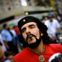Che Guevara hasonmás Venezuelából