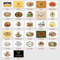 A kubai Habanos SA hivatalos honlapján bemutatott Regular Catalogue 27 szivarmárkája