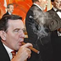 Szivarozó Politikusok - Gerhard Schröder