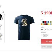 Interneten rendelhető szivaros pólók