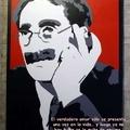 Groucho Marx karikatúrák