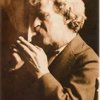Mark Twain - eredeti nevén Samuel Langhorne Clemens amerikai író, újságíró, humorista