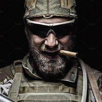 Katonák Szivarral