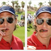 Sztár Szivar - Matthew McConaughey még golfozás közben is szivarozik