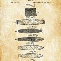 Antik Szivaros Szabadalmi leírások és Rajzok