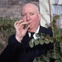 Alfred Hitchcock a szenvedélyes szivaros